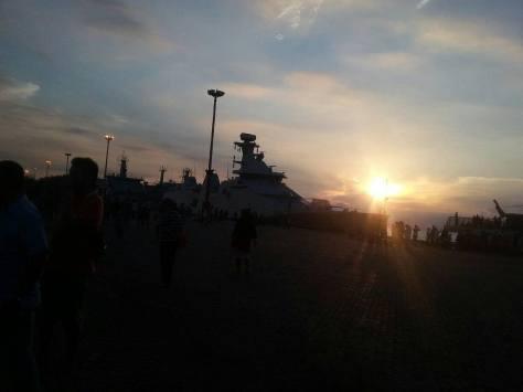 KRI RE Martadinata 331 dalam rangka persiapan peringatan HUT TNI ke-72 tahun 2017 di Banten.