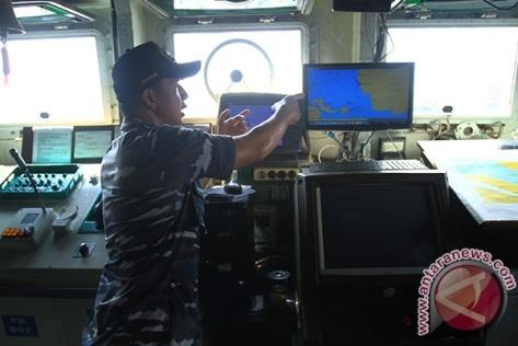 KRI Teluk Gilimanuk 351 Tiba di Pontianak 0910 E