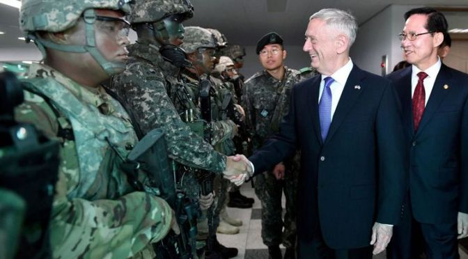 Amerika Ancam Kirim Militer Besar-besaran jika Korut Pakai Senjata Nuklir