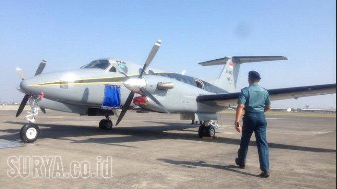 TNI AL Resmi Operasionalkan Pesawat Beechrraft King Air 350i U-6401