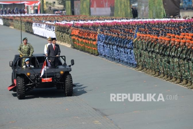 Peringatan HUT Ke-72 TNI di Banten