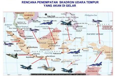 Rencana penempatan skadron udara tempur TNI AU (IMF)