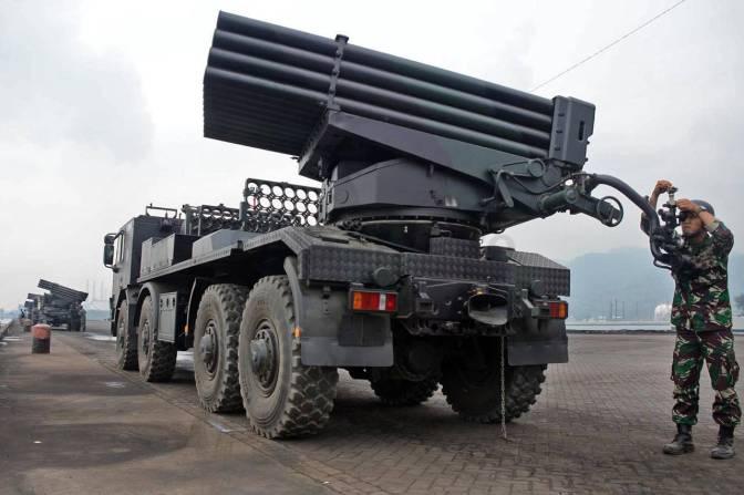 Sistem Kesenjataan Yang Akan Tampil pada HUT ke-72