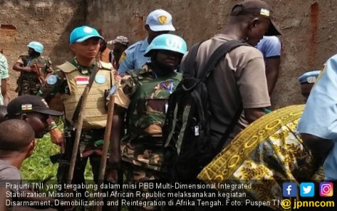 TNI Dukung Pelaksanaan DDR di Afrika Tengah (JPNN)