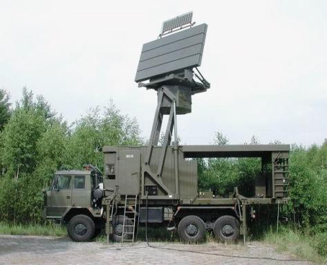 TRS-15 mobile medium range radar (PITRadar)