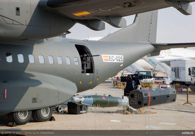 Airbus Tampilkan Rangkaian Lengkap Senjata untuk C295