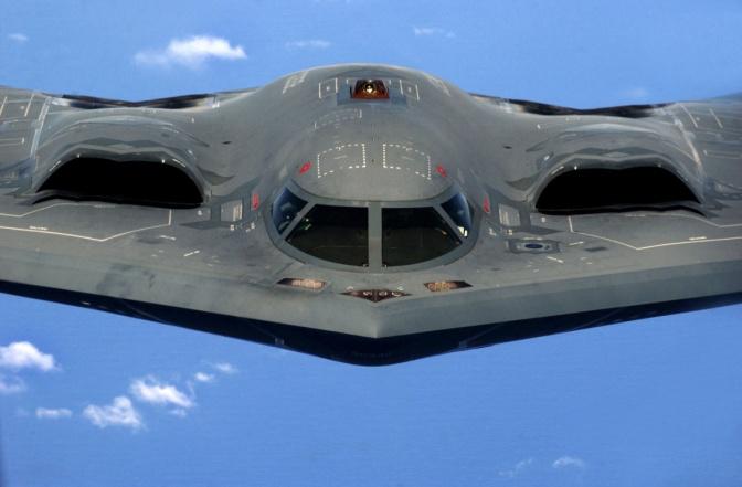 Pengebom Siluman B-2 dan B-1B Batal ke Jepang