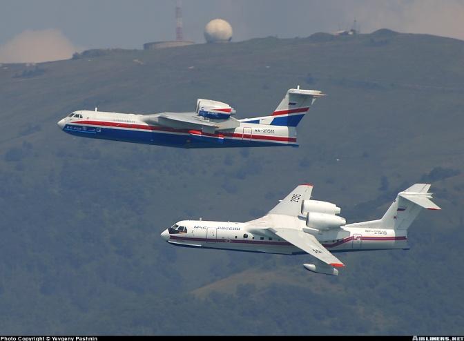Rusia dan Indonesia Mulai Konsultasi Pengadaan Be-200