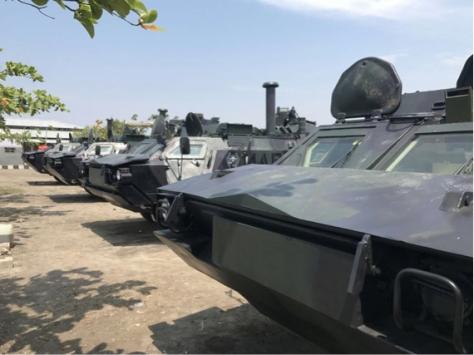 BTR-4M Korps Marinir TNI AL (Detik)