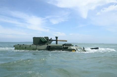 BTR-4M Korps Marinir TNI AL (Dicky Asmoro)