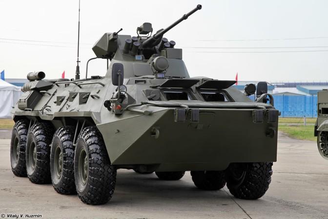 Indonesia Tertarik Membeli BTR-82A