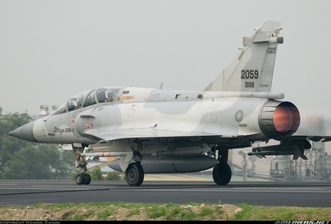 Mirage-2000 Taiwan Dilaporkan Hilang di Laut China Timur