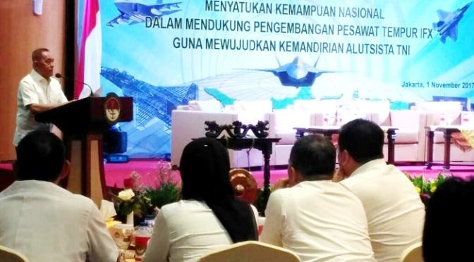 Forkom Litbanghan Satukan Kemampuan Nasional Guna Dukung Pengembangan Pesawat Tempur KFX/IFX