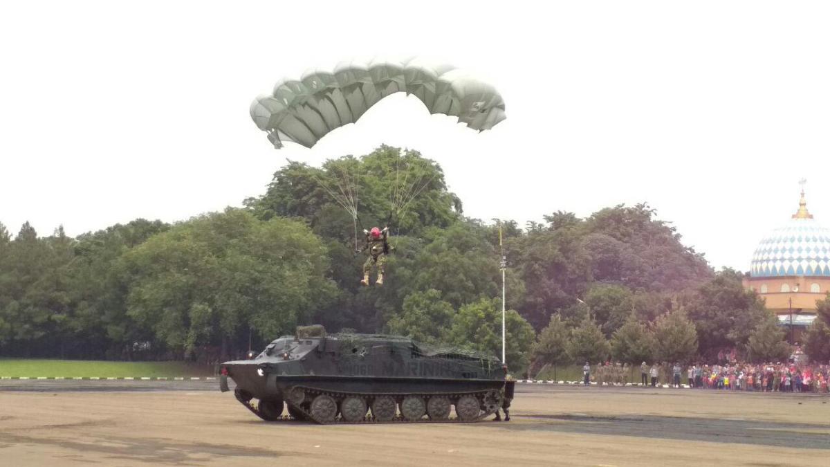 Peringati HUT ke-72, Korps Marinir Diminta Jaga Nama Baik