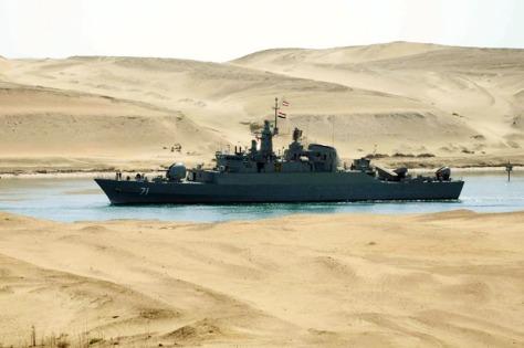 Kapal Perang Iran (Istimewa)
