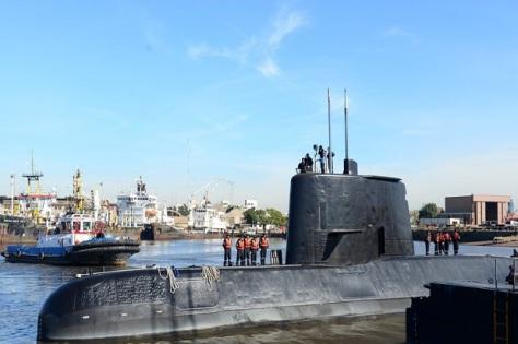 Kapal selam ARA San Juan milik militer Argentina dilaporkan hilang bersama 44 awak setelah mengalami masalah komunikasi. (Reuters)