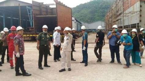 Kemhan Kunjungi PT Daya Radar Utama 1