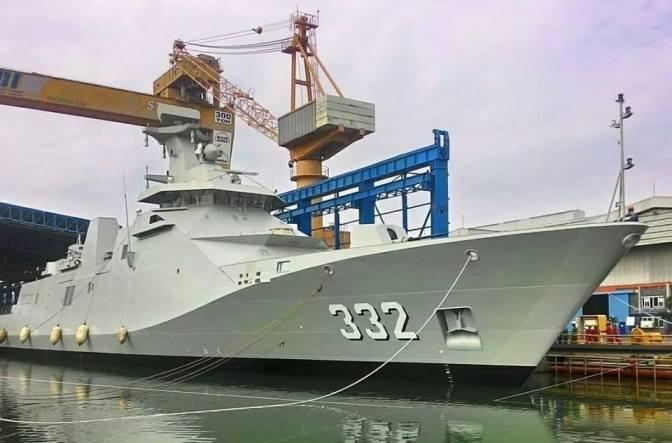 Panglima TNI : Jadi Ada 4 Kapal yang Akan Dibuat, Ini yang Kedua yang Sudah Dibuat