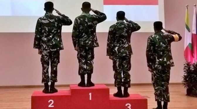 TNI Raih Juara Umum Lomba Menembak AARM ke-27 di Singapura
