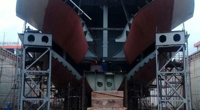 Progres Pembangunan LPD 124 M Pesanan TNI AL