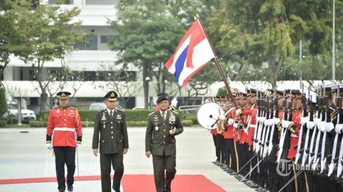 Panglima TNI Ajak Pangab Kerajaan Thailand Perluas Kerja Sama