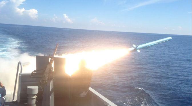 TNI AL Berhasil Uji Coba Senjata Strategis Rudal C-705 dan Torpedo SUT