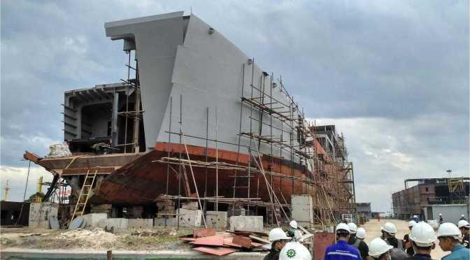 LST Kedua TNI AL Akan Diserahkan Bulan April 2018 dan Digunakan Sebagai Kapal Angkut Tank Marinir