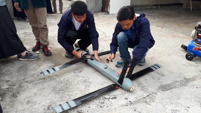 Pesawat Lipat Rancangan Mahasiswa ITB Bidik Kebutuhan Industri dan Militer