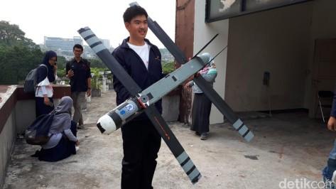 Pesawat Lipat Rancangan Mahasiswa ITB (Detik)