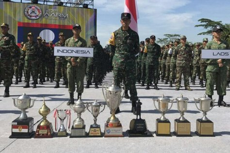 Prajurit TNI Juara AARM 2017 (Puspen TNI) 1E