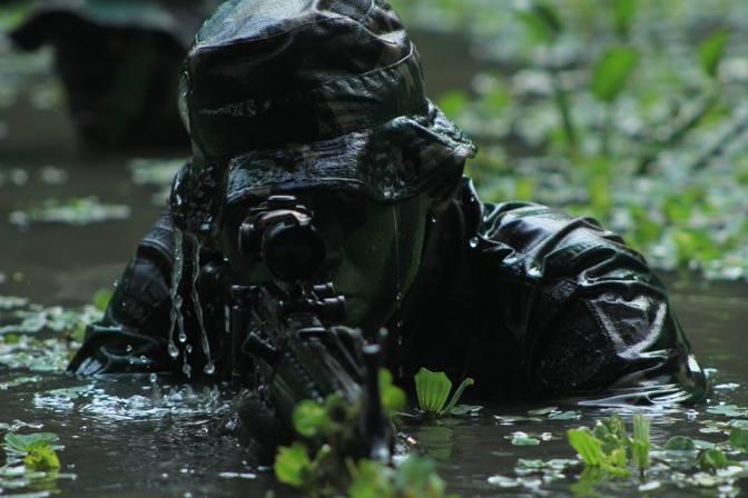 Personel Brigade Infantri 19/ Khatulistiwa Latihan Pemantapan Raider