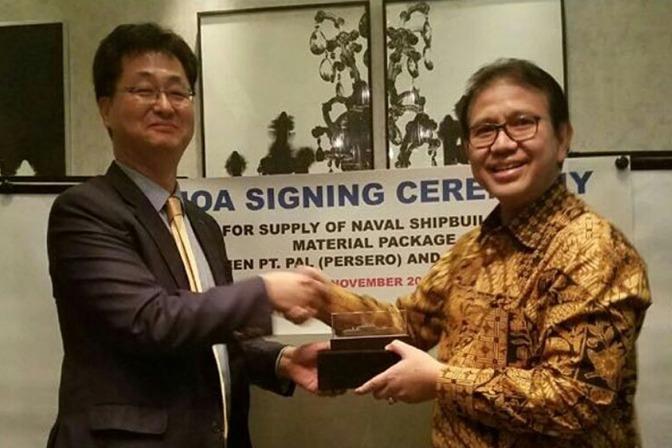 PT PAL Jalin Kerjasama dengan Posco Daewoo Corporation