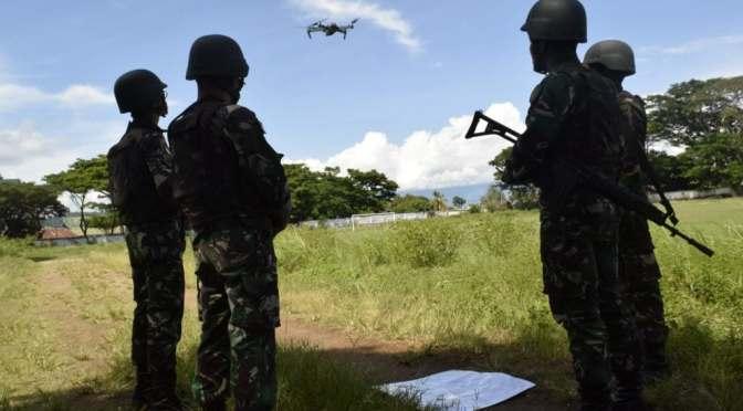 Satgas Tinombala TNI Gunakan Drone Untuk Intai DPO di Lembah Napu