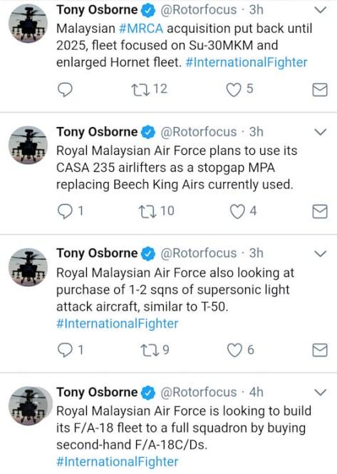 T-50 untuk Malaysia (Tony Osborne)