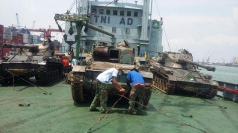 AMX-13 Dipindahkan ke Kodam XII Tanjungpura (Berita Jatim)