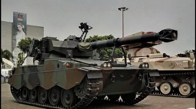 29 Unit Tank AMX-13 Dipindahkan ke Kodam XII/ Tanjungpura