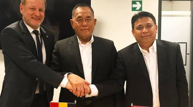 Kunjungan Tim PT Pindad dan Kemhan RI ke CMI Defense dan FN Hestral (Foto)