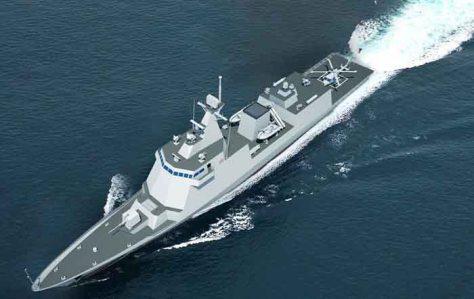 Desain kapal perang untuk AL Filipina (Istimewa)