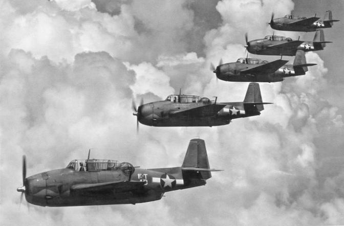 """05-12-1945, Skuadron Bomber """"Flight 19"""" AS Hilang Misterius di Bermuda"""