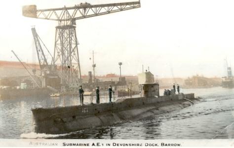 HMAS AE1 at Devonshire Dock, Barrow-in-Furness soon (Flicker)