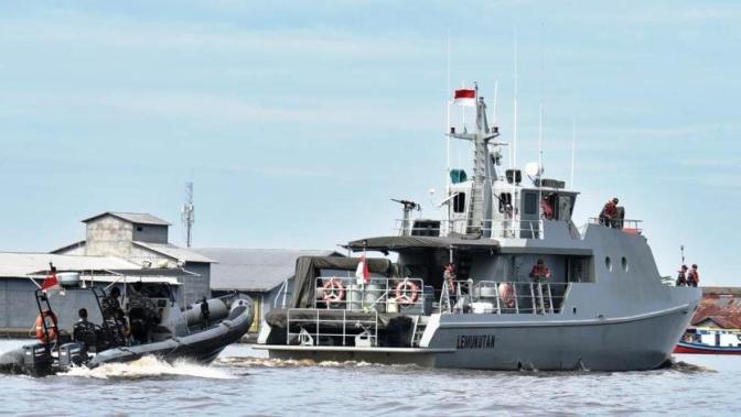 Pengamanan Laut Kunjungan Kerja Presiden RI Di Pontianak