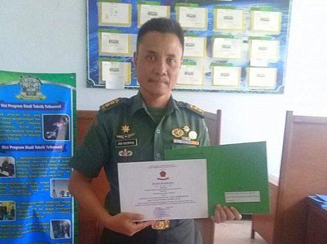 Kepala Jurusan Telekomunikasi Poltekad Letkol Arh Ir Nur Rahman (Radar Malang)