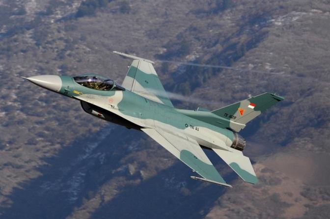 AU Amerika Serikat Menyelesaikan Pengiriman 24 F-16 ke Indonesia