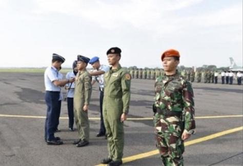 MOT antar penerbang antar Pangkalan Angkatan Udara di Indonesia resmi ditutup Komandan Lanud Iswahjudi Marsekal Pertama (Marsma) TNI Samsul Rizal S.I.P., M.Tr (Han).