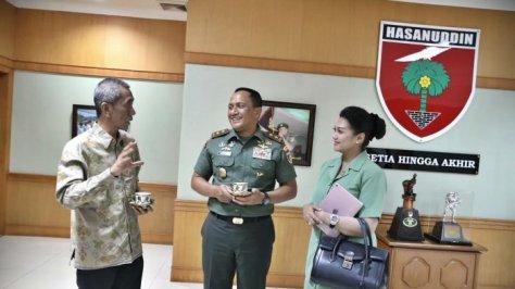 Pangdam XIV Hasanuddin Mayjen TNI Agus Surya Bakti (Tribunnews)