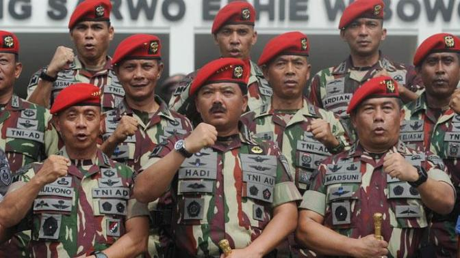 Alokasi 30 Persen Alutsista untuk TNI AD
