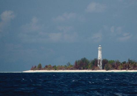 Pulau Selaru Menara Suar (Istimewa)