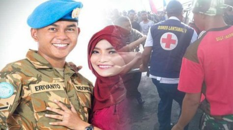 Sertu Marinir Eriyanto (Tribun Medan)
