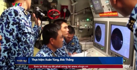 The Vietnamese Navy's Kilo submarine fired the first 3M-54E Club-S missile (VTV1) 4
