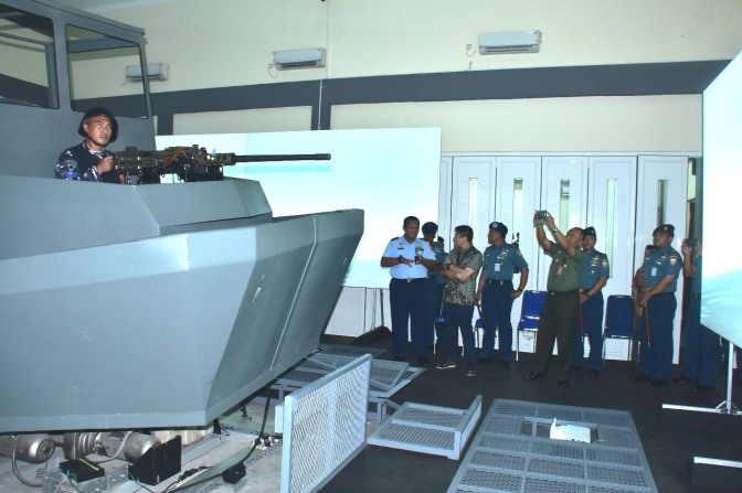 Uji Fungsi Integrated Combat Management System (ICMS)
